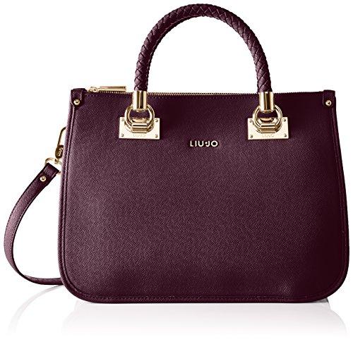 LIU JO ANNA SHOPPING BAG N66085E0087-92520 Dark genziana