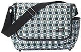 OiOi Essentials Bionic Dot - Bolso cambiador bandolera, color turquesa