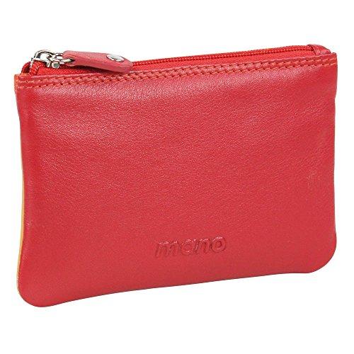 Mano M17712RE Porte Clés multicolores avec 1 Anneaux en Rouge
