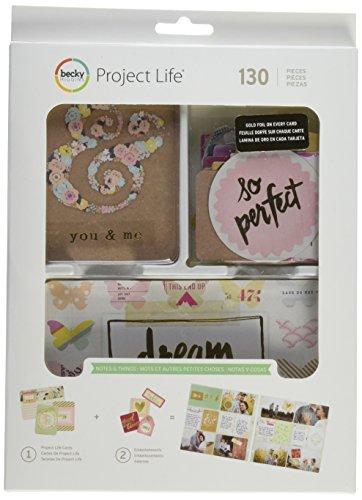 Project Life Notizen und Dinge Value Kit (Paper Crate Scrapbooking)