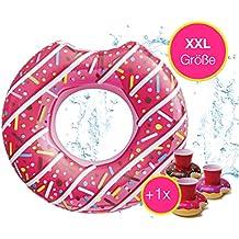 Spielzeug Xxl Donut Schwimmring Schwimmreifen Wasser Spielzeug Aufblasring Schwimmhilfe
