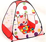 Portable Foldable Polka Dot Pop Up­ Playhouse Tent Toys