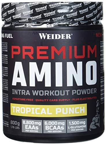 Weider Premium Amino - Tropical Punch, 800 g