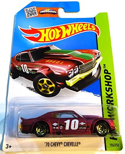 Chevelle Chevy Hotwheels 70 (2015 Hot Wheels 70 Chevy Chevelle 194/250 by Hot Wheels)