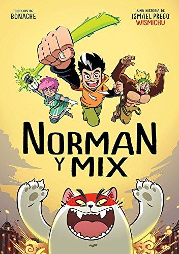 Norman y Mix son dos superhéroes muy especiales... Sus poderes son cuanto menos imprevisibles. Vaya, que varían en función del día. Una mañana se levantan con la capacidad de volverse invisibles (¡mola!), y al día siguiente todo lo que tocan se tiñe ...