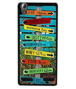 PrintVisa Designer Back Case Cover for Lenovo A6000 :: Lenovo A6000 Plus :: Lenovo A6000+ (The Cool Mile Stone Design)