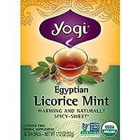 Twilight Egyptian Licorice Mint Tea (Organic) Yogi Teas 16 Bag