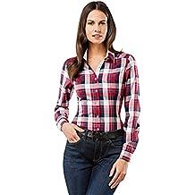 comprare popolare 9320a 96729 camicia donna quadri - 4 stelle e più - Amazon.it