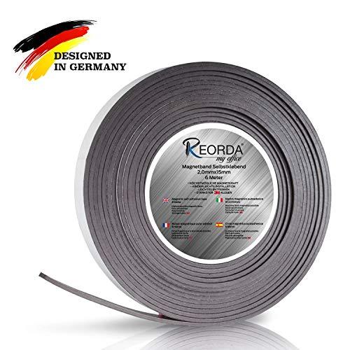 Reorda Magnetic Tape 6 metros- Banda magnética autoadhesiva