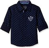 #8: Cherokee Boys' Plain Regular Fit Cotton Shirt