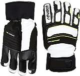 Reusch Herren Profi SL Handschuhe, White/Neon Yellow, 9.5