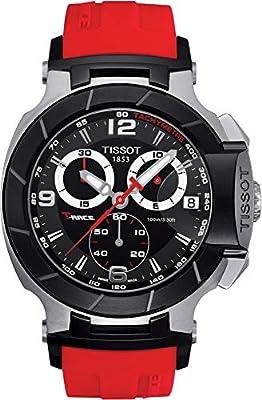 Tissot T-RACE T0484172705701 de cuarzo, correa de caucho