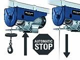 Einhell Seilhebezug BT-EH 500 (Tragkraft 500 kg, 230 V, 1000 W, Hubhöhe 11,5 m, 12 m Drahtseil) für Einhell Seilhebezug BT-EH 500 (Tragkraft 500 kg, 230 V, 1000 W, Hubhöhe 11,5 m, 12 m Drahtseil)