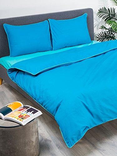 Jeaa Studio Uni gefärbt Quilt / Bettbezug-Set