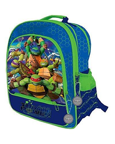 (TORTUGAS NINJA Ninja Turtles–Rucksack mit 4Reißverschlüssen Anpassungsfähig zu Wagen Trolley (Astro Europa ast0940))