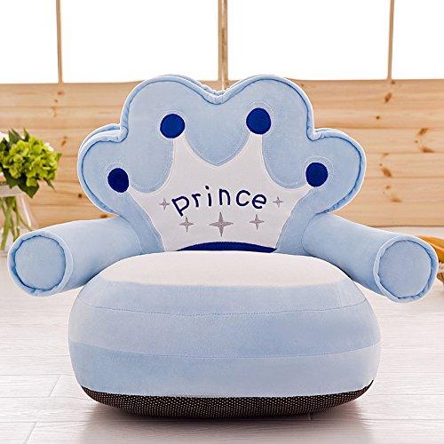 VERCART Sessel Schlafsofa für Kinder In Outdoor Sitzsäcke Kissen Sofakissen Hocker Sitzkissen Bodenkissen mit Styropor Füllung Möbel Hellblau blau