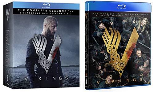 Vikings: Season 1-4 & 5 (Part 1) [Blu-ray]