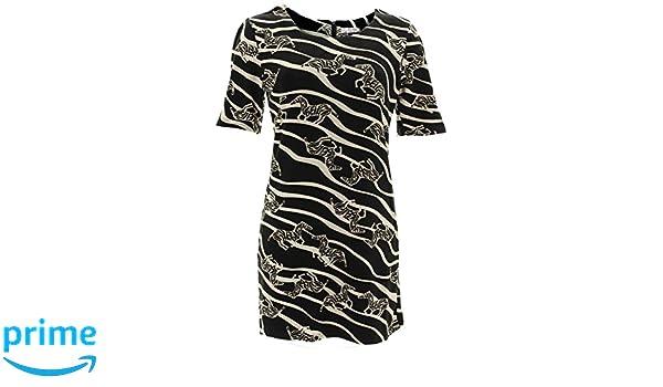 Shikha London Strickkleid ZEBRA TUNIC DRESS 4936
