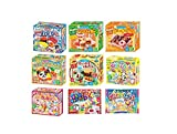 dispach with New Carton Box! Kracie Popin Cookin 9 Item Bundle with Sushi, Hamburger, Bento, Donuts, Cake Shop and More