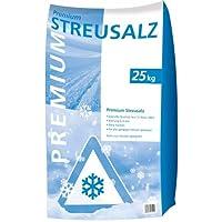 Hamann Premium Streusalz 25 kg - Besseres Rieselverhalten auf, ist trockener und Hat Einen geringeren Staubanteil