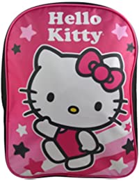 "Sanrio Hello Kitty Girls' 15"" School Bag Backpack Travel Bag"