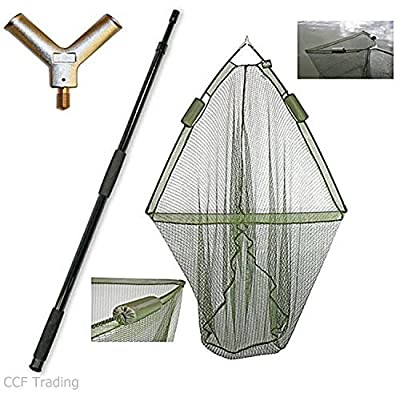 "42"" CARP FISHING LANDING NET with DUAL NET FLOAT SYSTEM + 2M HANDLE NGT by CCF Trading/NGT"
