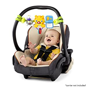 The Bright Starts Take Along Car Seat Bar Toy