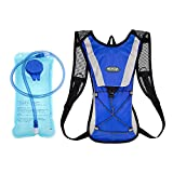 Backpack Water Bag Hydration Backpack With 2L Hydration Pack Water Bladder Hiking Backpack Cycling Rucksack Climbing Camping Running Bags