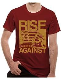 Loud Distribution - T-shirt Homme - Rise Against-Numb