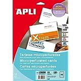 APLI 10608 tarjeta de visita - Tarjetas de visita