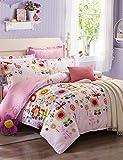 GXS/ Sonnenblume 100% cottonbedclothes 4pcs Bettwäsche-Set Queen-Size-Bettbezug-Set , queen
