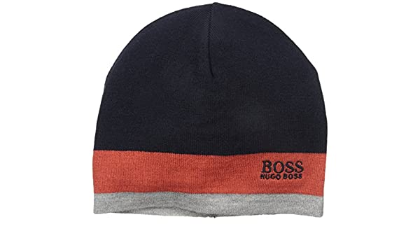 BOSS Hugo Mens Ciny Skull Cap - Orange -  Amazon.co.uk  Clothing 68622c4d6bce