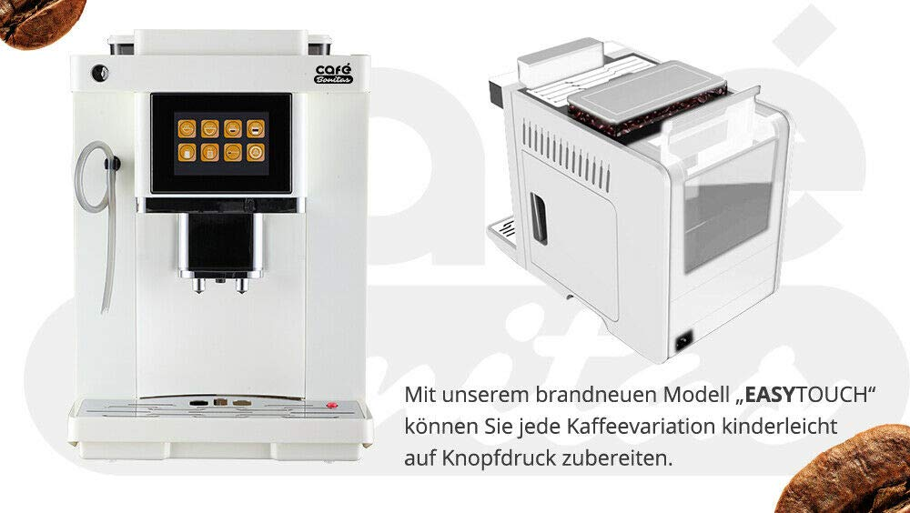 NEU-2019-Modell-Easy-Touch-50-sparen-mit-Garantiepaket-Kaffeevollautomat-LED-Caf-Bonitas-Touchscreen-Dualboiler-19-Bar-Kaffeeautomat-Kaffeemaschine-Kaffee-Espresso-Latte