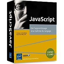 JavaScript - Coffret de 2 livres : De l'apprentissage à la maîtrise du langage