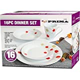 16PC DINNER SET BOWL PLATE MUG SOUP SIDE PORCELAIN CUP Best Review Guide