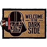 OOTB GP85033 Paillasson, Star Wars-Welcome to The Dark Side, Fibre de Coco, Multi, 40 x 60 x 1,5 cm