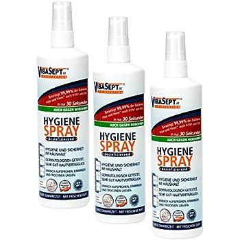 Vibasept Hygiene Spray 6 X 250 Ml Prime Amazon De Beauty