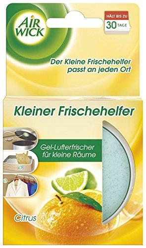 Air Wick Kleiner Frischehelfer Citrus, 6er Pack (6 x 30 g) -