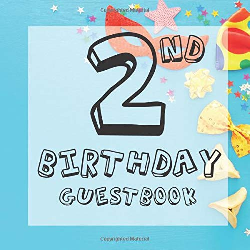 Masquerade Mask Ideen - 2nd Birthday Guest Book: Carnival Mask