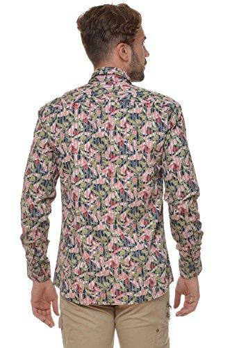 M.Conte Men Shirt chemise manches longues pour homme Vittorio Beige