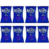 Kettle Patatas Fritas con Vinagre - Paquete de 8 x 150 gr - Total: 1200 gr