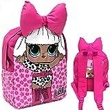 L.O.L. Surprise Kinder Rucksack Kindergartentasche für Kleinkinder mit LOL 3D-Schleife