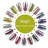 Die besten Glitter Nagellacke - Meicailin Magic Silver Mirror Effect Nail Art Glitter Bewertungen