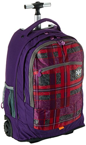 Chiemsee Unisex Tolley Wheely Rucksack-Trolley Checky Barberr