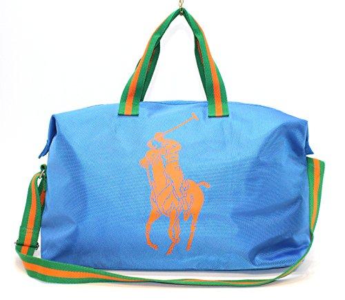 ralph-lauren-borsa-per-sport-palestra-con-logo-cavallo-grande-colore-blu-con-logo-arancione