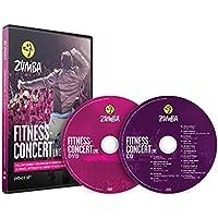 Fitness Concert Live Zumba - Juego de DVD y CD