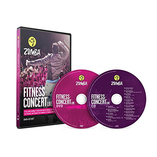 Fitness-Concert Live Zumba DVD+CD Set,