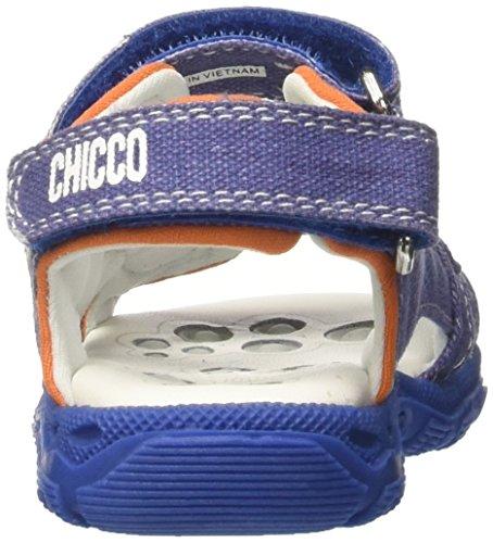 Chicco Calton, Sandales Plateforme Bébé Garçon Bleu (Jeans)