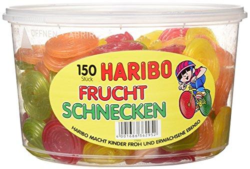 Haribo Frucht Schnecken,3er Pack (3x 1.2 kg) -