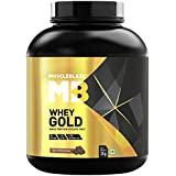 Muscleblaze Whey Gold 100% Whey Isolate Protein Supplement Powder, 2 kg 66 Servings (Rich Milk Chocolate)